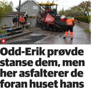 Odd-erik og asfaltering