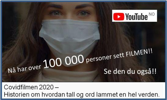 Covidfilmen 2020 nå over 100 000 seere