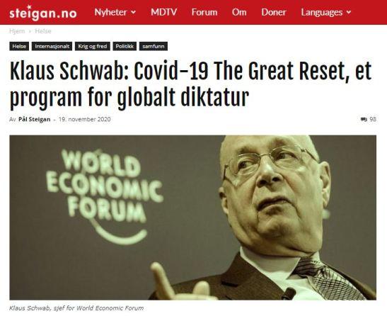 Steigan world economic forum