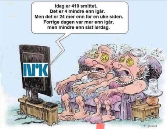Media er viruset Nrk