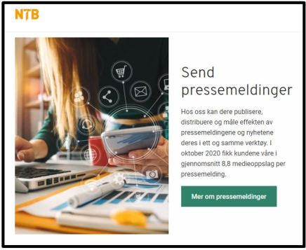 NTB og pressemeldinger