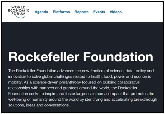 Rockefeller og WEF
