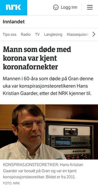 Nrk og Gaarder