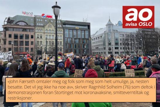 Ragnhild Solheim vil ikke være rasist