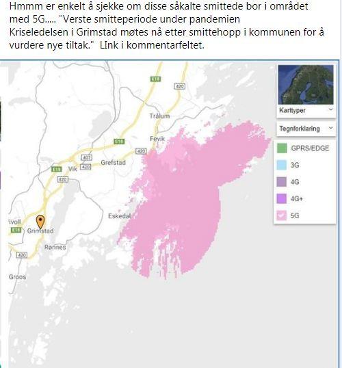 Grimstad og 5G