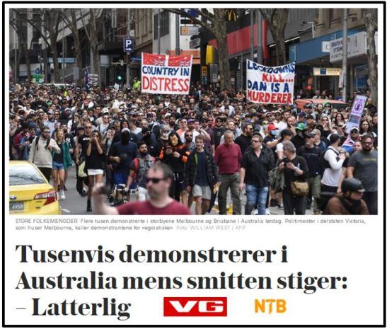 VG og Dagbladet mener det er latterlig å demonstrere